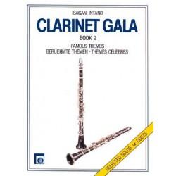 Clarinet Gala Band 2 : Berühmte Themen für Klarinette solo oder für 2 Klarinetten
