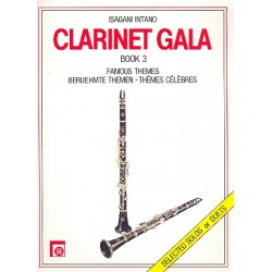 Clarinet Gala Band 3 : Berühmte Themen für Klarinette solo oder für 2 Klarinetten
