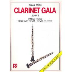 Clarinet Gala Band 3 : Ber├╝hmte Themen f├╝r Klarinette solo oder f├╝r 2 Klarinetten