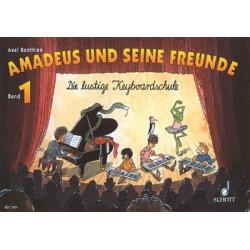 Benthien, Axel: Amadeus und seine Freunde Band 1 : die lustige Keyboardschule
