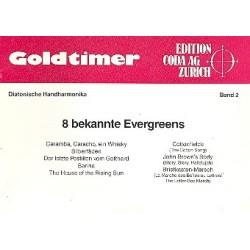 Goldtimer Band 2 : 8 bekannte Evergreens f├╝r diatonische Handharmonika