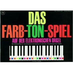Bodenmann, Hans: Das Farb-Ton-Spiel Band 1 : für E-Orgel
