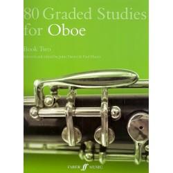 80 graded Studies for oboe vol.2