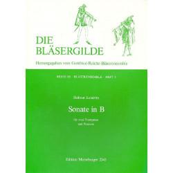 Leistritz, Helmut: Sonate B-Dur : für 2 Trompeten und Posaune Spielpartitur