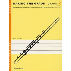 Making the Grade 3: for flute easy popular pieces for young flautists, flute and piano