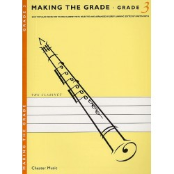 Making the Grade 3 : for clarinet easy popular pieces for young clarinettists, clarinet and piano