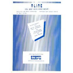 Aline: Einzelausgabe für Gesang und Klavier