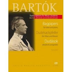 Bartók, Béla: Dudelsackpfeifer : für Oboe und Klavier