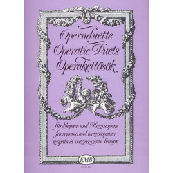 Opernduette : für Sopran, Mezzosopran und Klavier