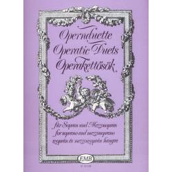 Opernduette : f├╝r Sopran, Mezzosopran und Klavier