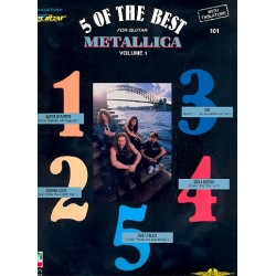 Metallica : 5 of the Best for Guitar