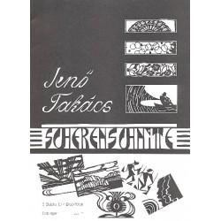 Takacs, Jenö: Scherenschnitte : 9 Stücke für 4 Blockflöten (SAAT) Partitur