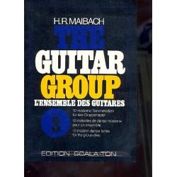 The Guitar Group vol.3 : 10 moderne Tanzmelodien f├╝r das Gruppenspiel