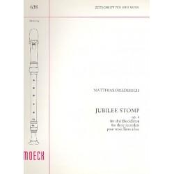 Friederich, Matthias: Jubilee Stomp op.4 : für 3 Blockflöten (STB)