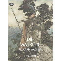 Wagner, Richard: Die Walküre full score (dt)