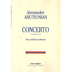 Arutjunjan, Alexander: Concerto for Tuba and Orchestra : for tuba and piano
