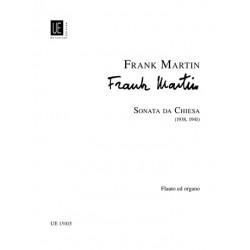 Martin, Frank: Sonata da chiesa : für Flöte und Orgel