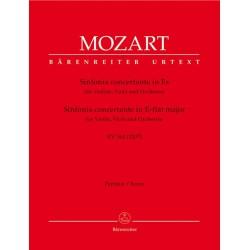 Mozart, Wolfgang Amadeus: Sinfonia concertante Es-Dur KV364 : für Violine, Viola und Orchester Partitur