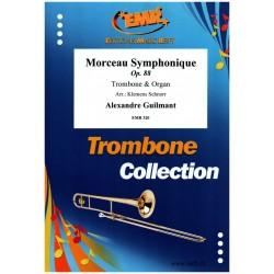 Guilmant, Felix Alexandre: Morceau symphonique : pour trombone tenor et orgue