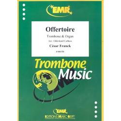 Franck, C├®sar: Offertoire : f├╝r Posaune und Orgel