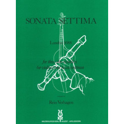 Finger, Gottfried: Sonata settima : for 3 alto recorders (violins) and bc