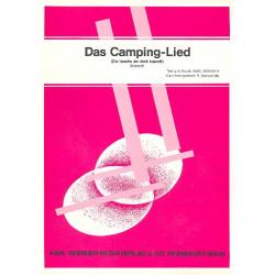 Berbuer, Karl: Das Camping-Lied: Einzelausgabe Gesang und Klavier Do laachs do dich kapott