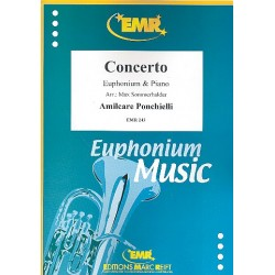 Ponchielli, Amilcare: Concerto for euphonium and band : for euphonium and piano