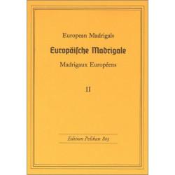 Europäische Madrigale Band 2 : für gleiche Stimmen Partitur
