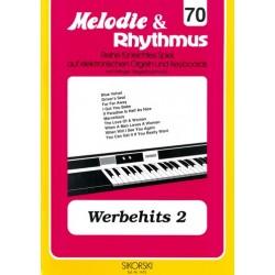 Werbehits 2: für E-Orgel / Keyboard