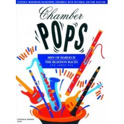 Chamber pops Men of harlech / The blaydon races für Holzblasintrumente/Saxophon-Ensemble