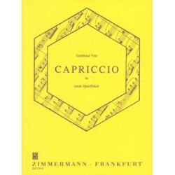 Veit, Gottfried: Capriccio : für 9 Querflöten
