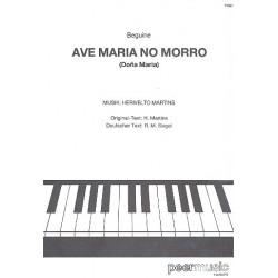 Martins, Herivelto: Ave Maria no morro: Einzelausgabe für Gesang und Klavier (po/dt) Dona Maria