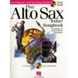 Play Alto Sax Today (+CD): Songbook