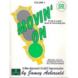 Aebersold, Jamey: Movin' on (+CD)