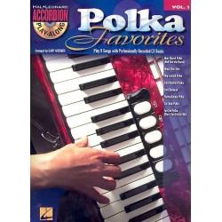 Polka Favorites vol.1 (+CD) : for accordion