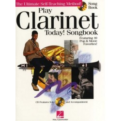 Play Clarinet Today (+CD) : Songbook