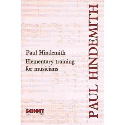 Hindemith, Paul: Elemantary Training for Musicians