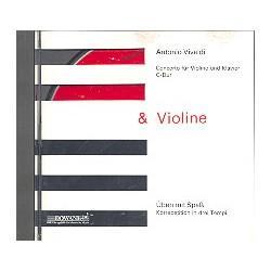 Vivaldi, Antonio: Concerto G-Dur für Violine und Klavier : CD mit der Begleitung zur Solovioline