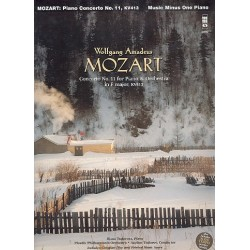 Mozart, Wolfgang Amadeus: Concerto in F no.11 KV413 : for piano and orchestra piano reduction