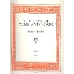 Mancini, Henry: The Days of Wine and Roses : Einzelausgabe f├╝r Klavier