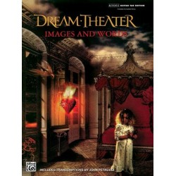 Images and Words : guitar-tab ed. dream-theater
