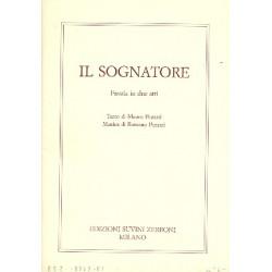 Pezzati, Romano: Il sognatore libretto (it)