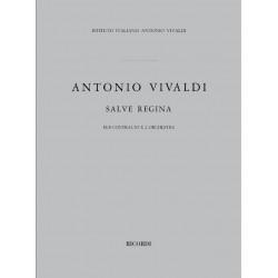 Vivaldi, Antonio: Salve Regina : f├╝r Alt und 2 Orchester Partitur