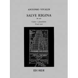 Vivaldi, Antonio: Salve Regina : für Alt und 2 Streichorchester Klavierauszug