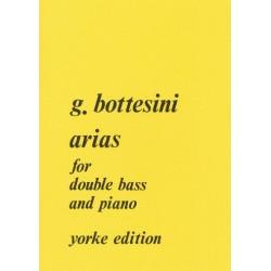 Bottesini, Giovanni: Arias : for double bass and piano (serenade du Barbier de Seville and finale de la Somnambule)