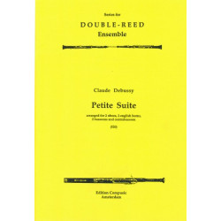 Debussy, Claude: Petite suite : for 2 oboes, 2 english horns, 2 bassoons and contrabassoon
