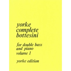 Bottesini, Giovanni: Complete Bottesini vol.1 : for double bass and piano