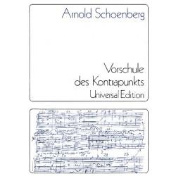 Schönberg, Arnold: Vorschule des Kontrapunkts