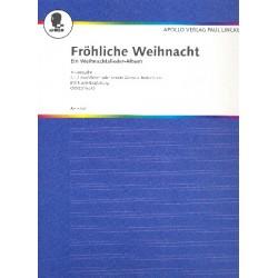 Fröhliche Weihnacht : Trio-Ausgabe für 2 Melodie-Instrumente und Klavier