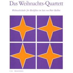 Das Weihnachts-Quartett : für 4 Blockflöten (SATB) Spielpartitur